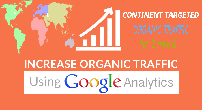 drive CONTINENT target organic traffic, Keyword targeted for 1 months