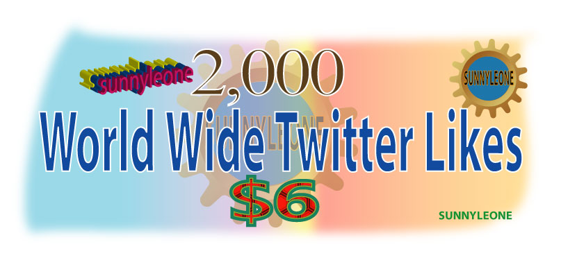 Give you 1000 World wide Twitter Likes