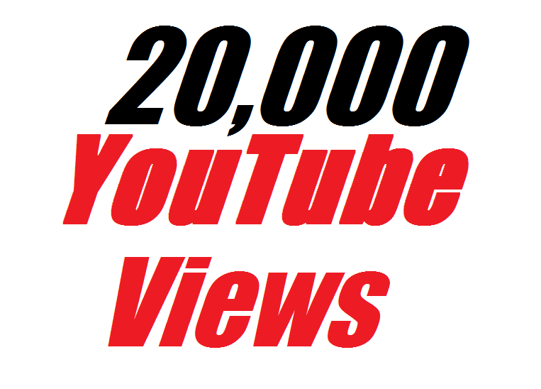 Add 20,000 To 22,000 YouTube Views ++Bonus 200 real likes  In Your Video super fast