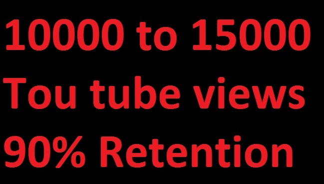 Buy 10,000+ YouTube Views fast and safe