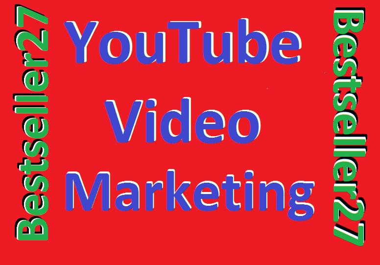 YouTube Video Marketing Promotion Fully Safe