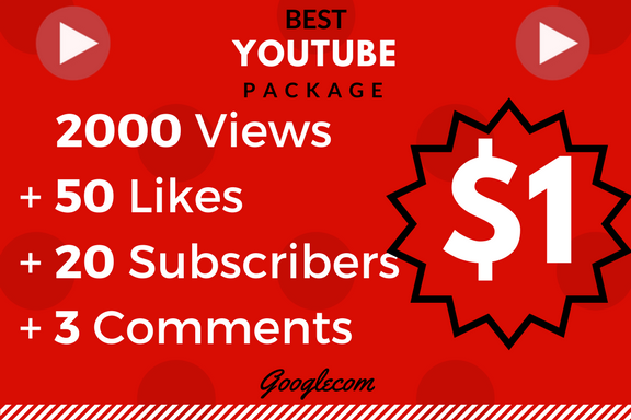 Lifetime 2000 Monetizable_Vie_ws+ 50_Lik_es+ 12 Comnts+ 12 Subs