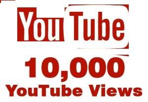 10000 YouTube Views or 1000 YouTube subscribers non drop guaranteed