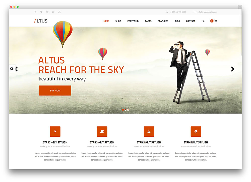 I will design wordpress website or psd to html
