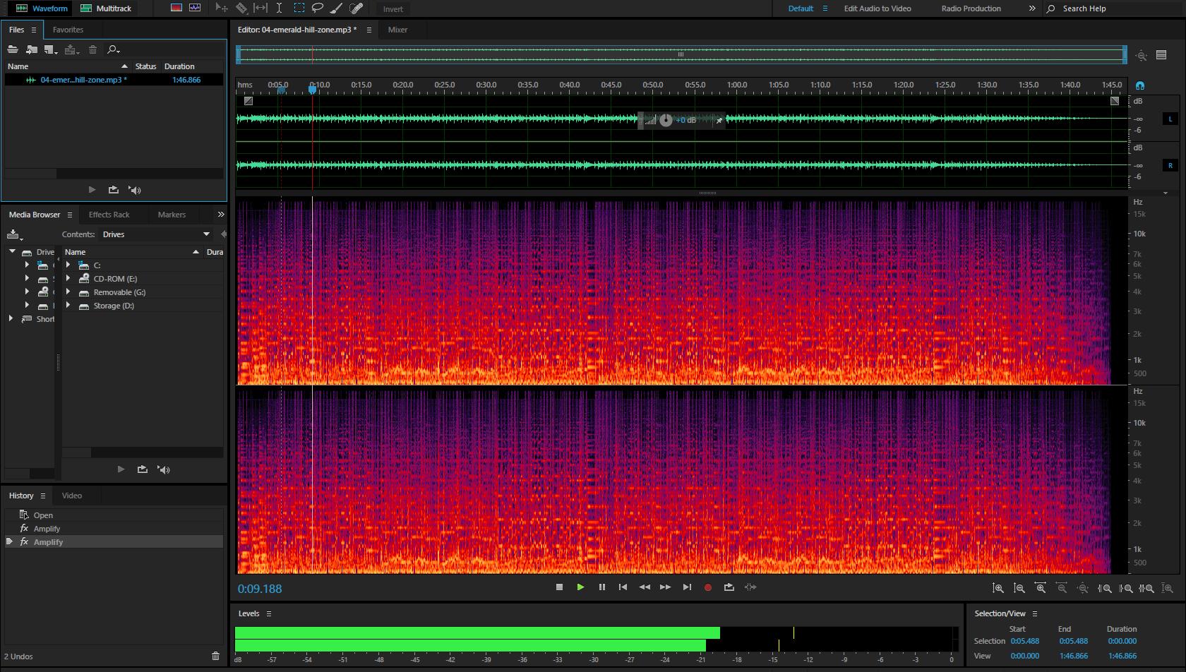 I will provide professional audio editing
