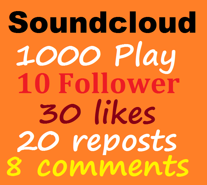 1000 usa play promotion+30 like+20 repost+8 comments