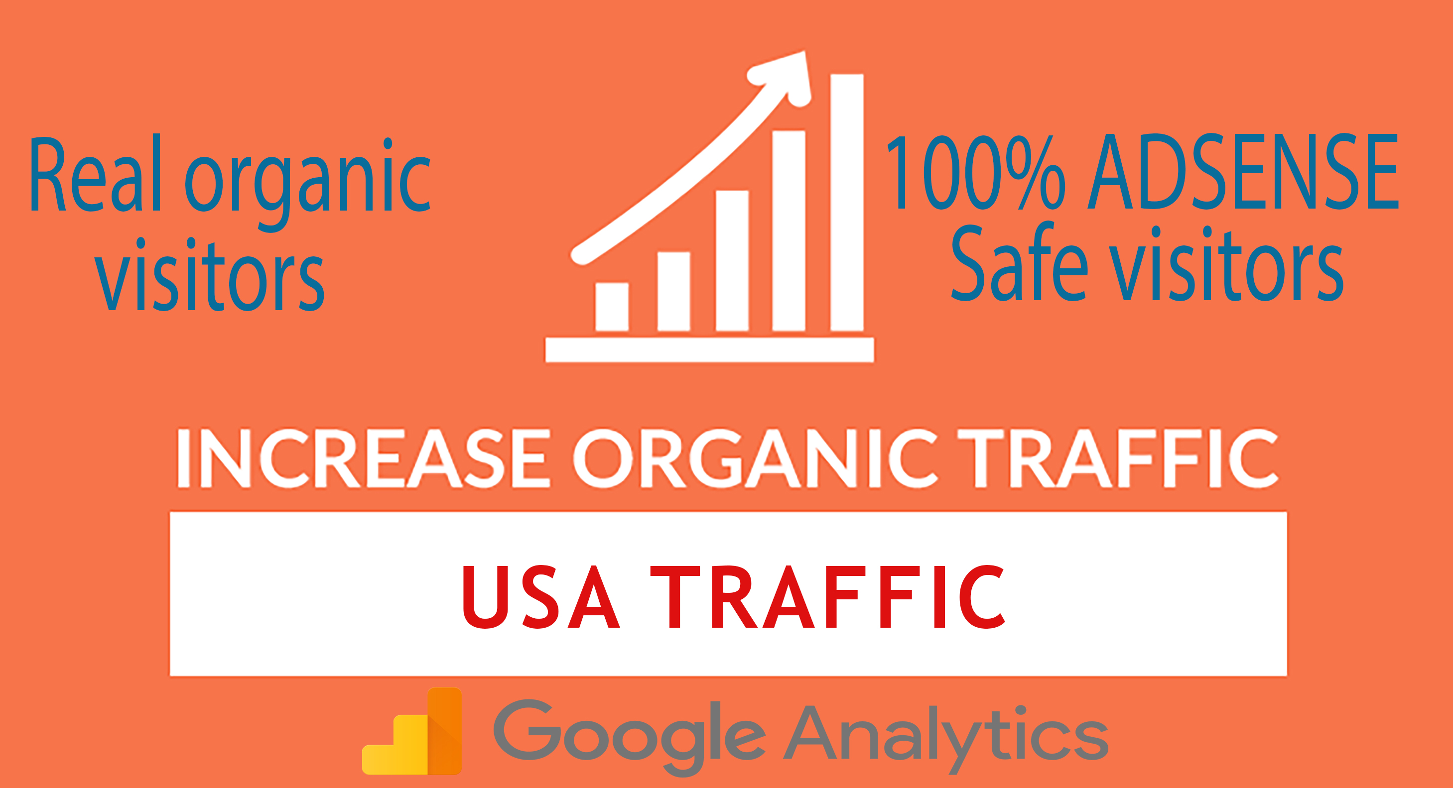 I will send daily USA keyword targeted organic traffi...