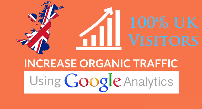 I will send daily UK keyword targeted organic traffic with low bounce rate