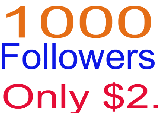 Add 1000+++ Followers in your Profile