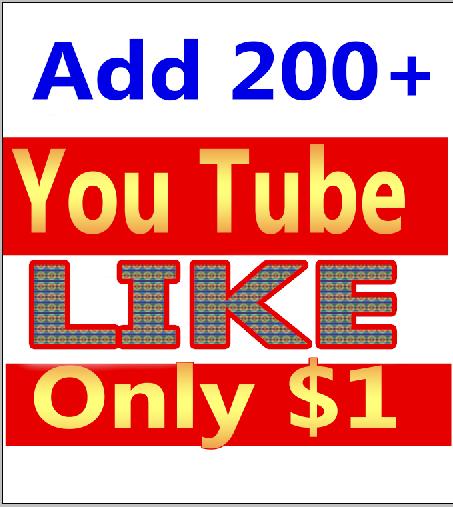 Add 150+ You Tube Video Like