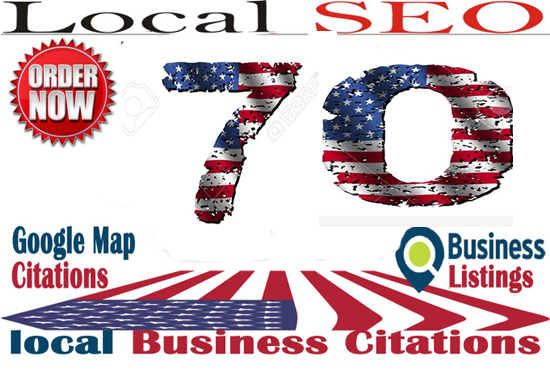 70 USA live local Citations for your local Business Listing