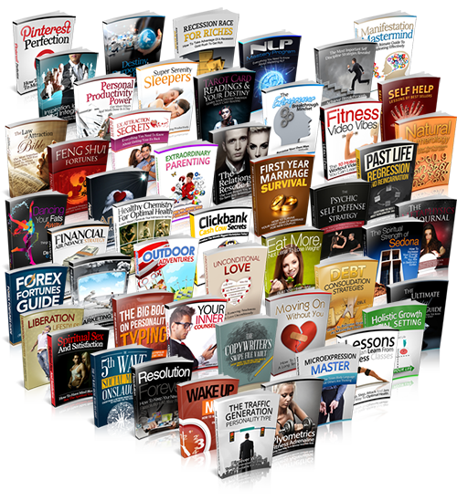Get Access 1000+ Ebooks with Full Resell Rights for