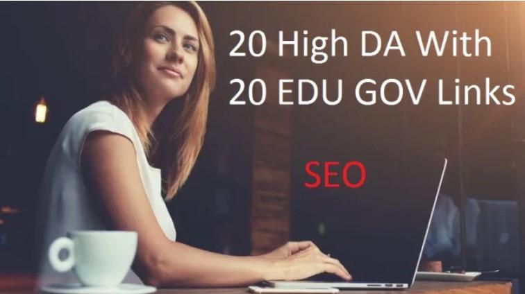 20 Pr9 and 20 EDU & GOV SEO Links