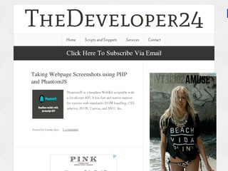 TheDeveloper24 Sponsored Blog Review