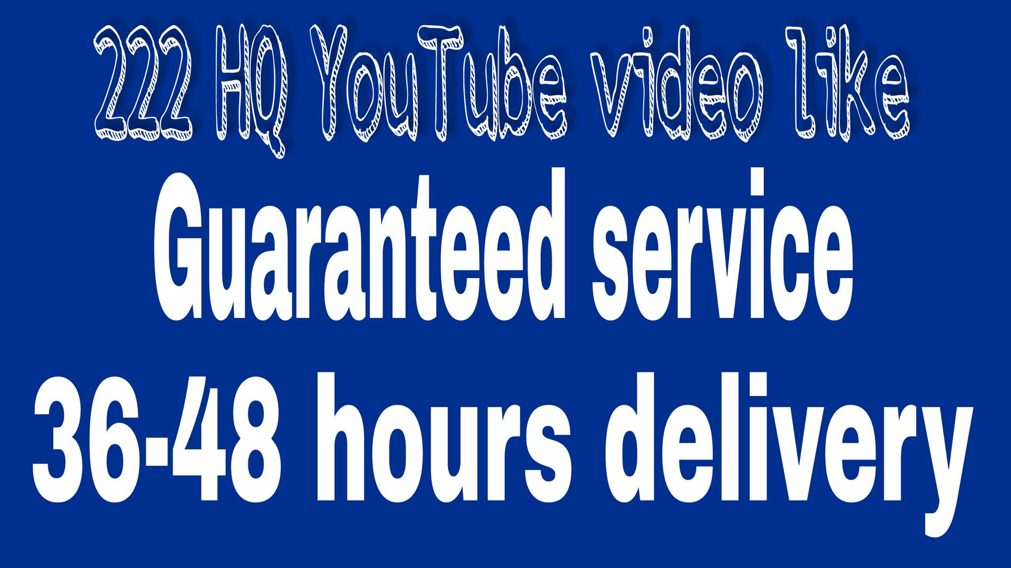 1500-2500 YuTube views& 20 video likes & 2 channel subscreber