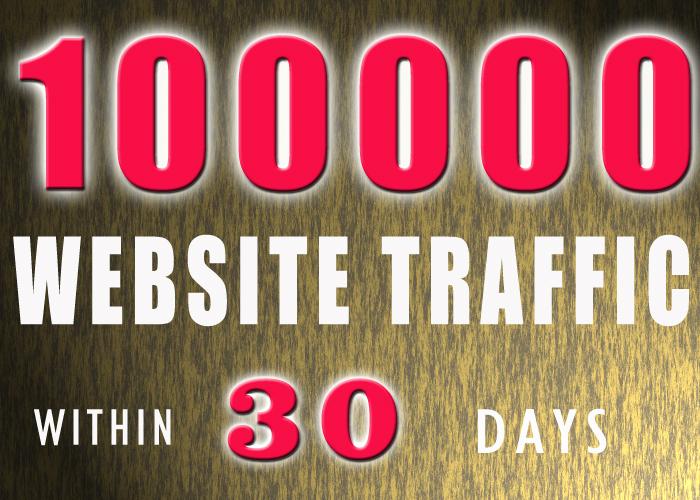 100000 KEYWORD TARGETED website traffic