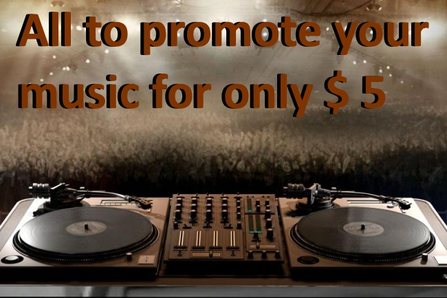 I'll give 13,000 contacts DJs, radiostations, labels, producers, sites for your music