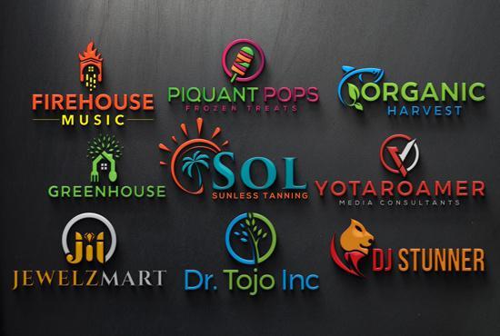 I'll design a professional and unique logo for you