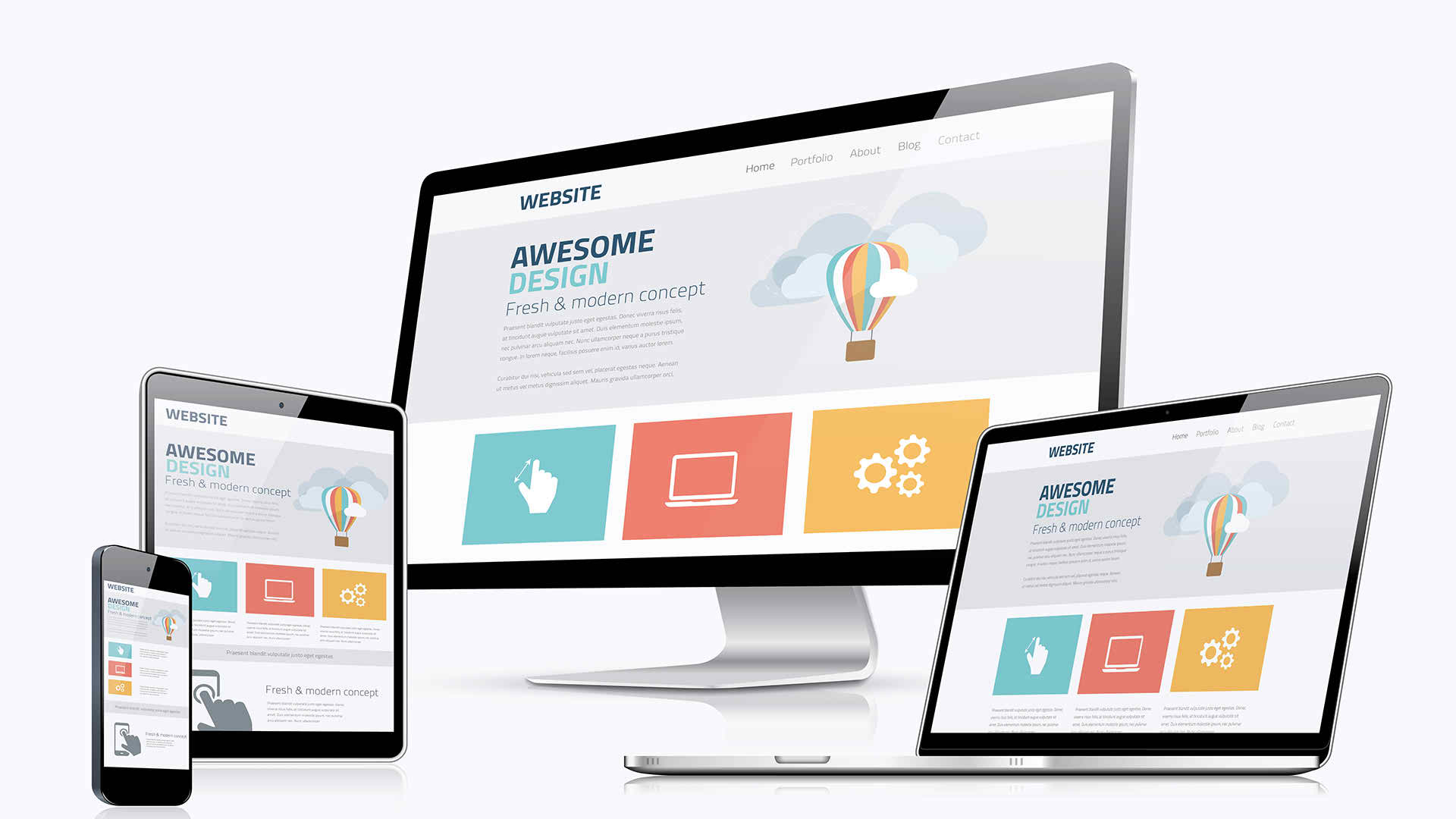 Create your design psd to html