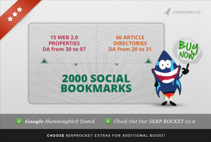 75 high pr authority LINKWHEEL and 2000 social bookmarks in 7 days
