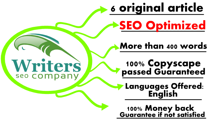 write 6 original content more than 400words seo optimized