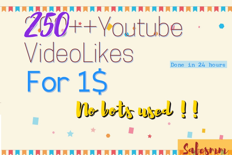 Add 250++ likes to your video