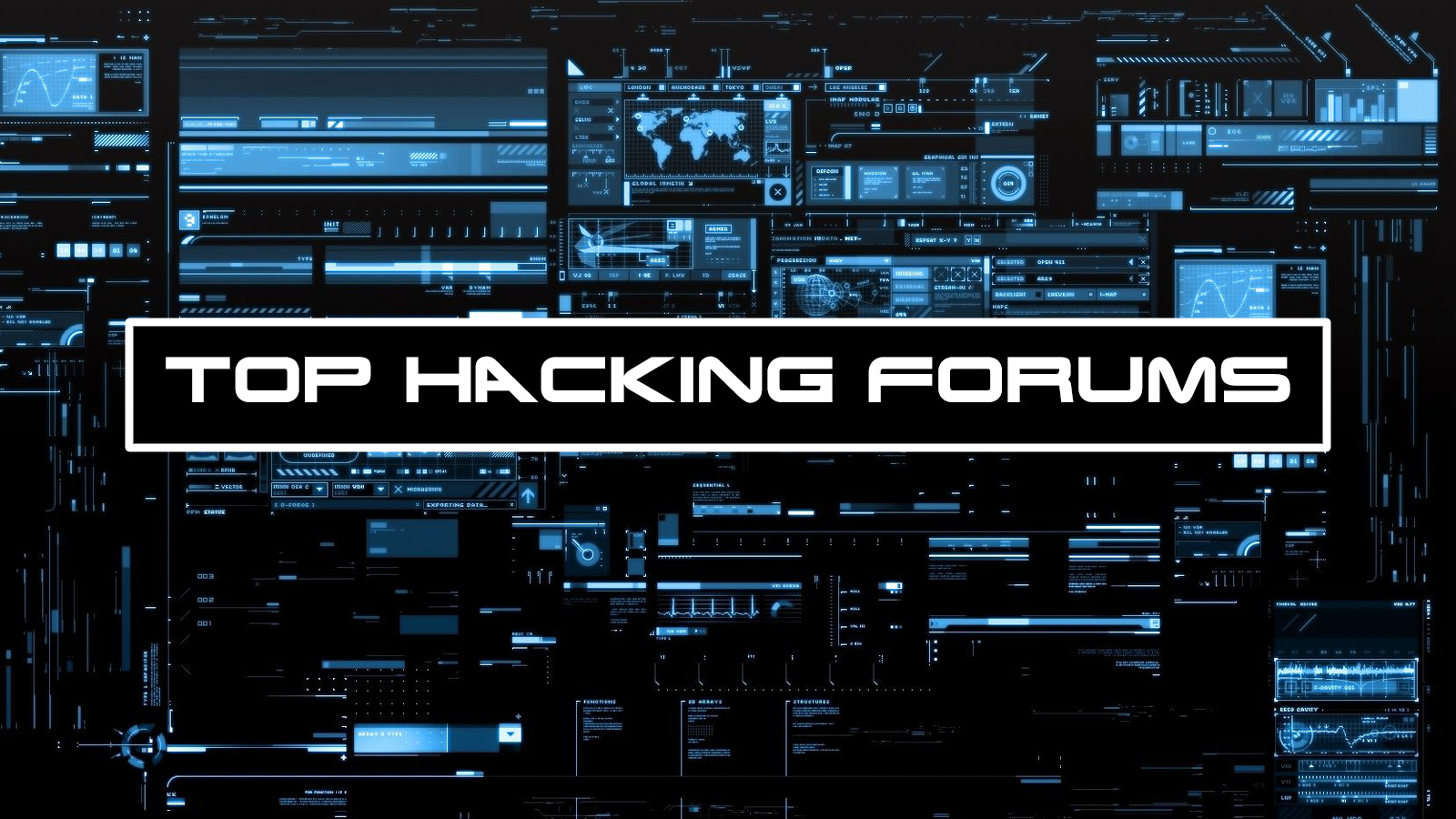 List of 16 forums dedicated to hacking, modding, co...
