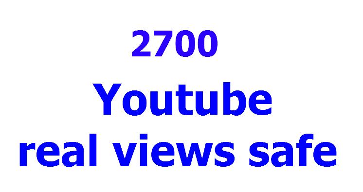 3500 legit youtube views  30 likes