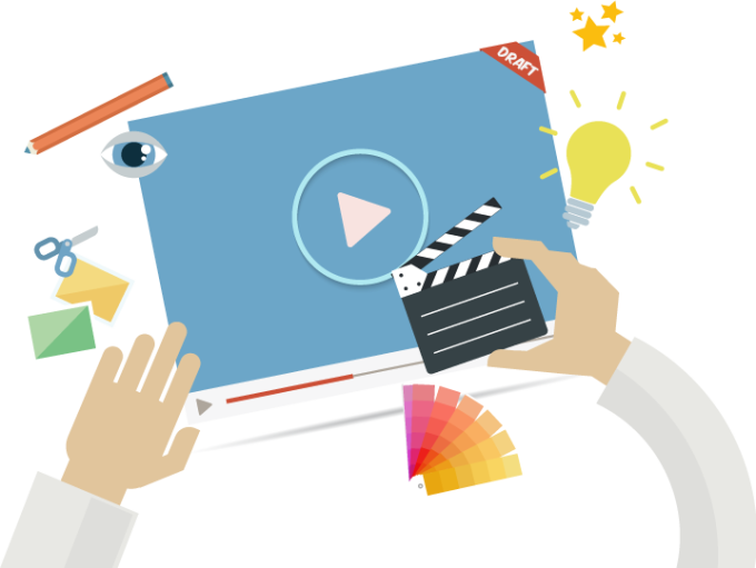 create bussines,marketing video presentation