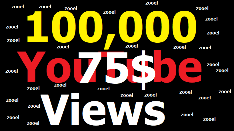 Instant Start 100,000+ You Tub Views Fast Delivery