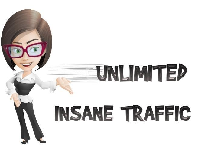 drive UNLIMITED genuine real traffic to your website, 1 month