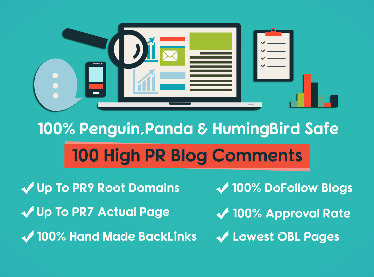 Offer 100 High Quality PR9 Do-follow blog comments ba...