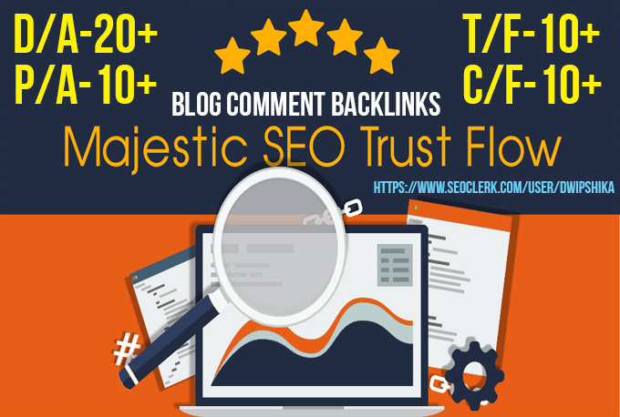 I provide you 60 high Trust flow and Citation Flow ba...