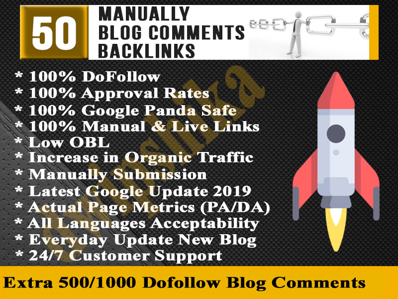 Give you 50 High PA DA Unique domain DoFollow Backlin...