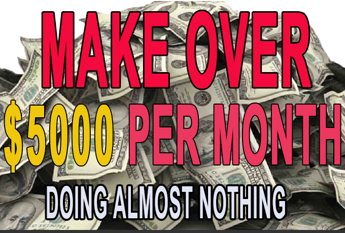 I WILL SHOW YOU HOW I CONSISTENTLY MAKE 5000 DOLLARS EVERY 30 DAYS