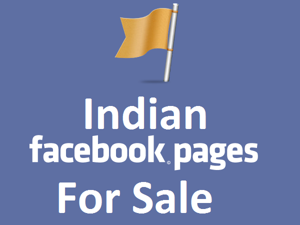 Indian Facebook Page with 21,280 likes for sale  for $125