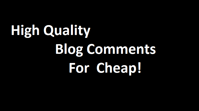 10 Comments for Articles or Blogs