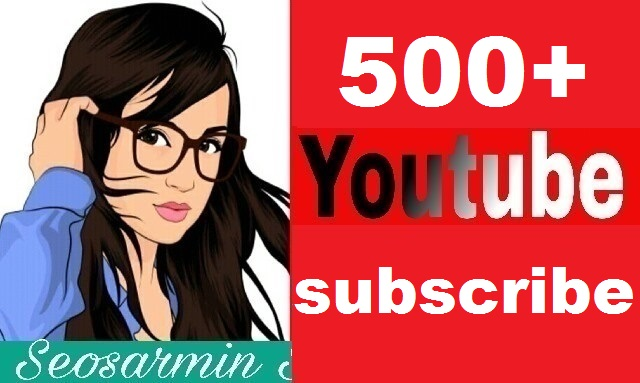 Guaranteed - 510+ Youtube channel subs-criber non drop and safe real profile Just