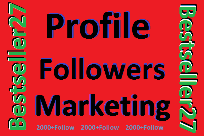 Profile Followers non drop user only