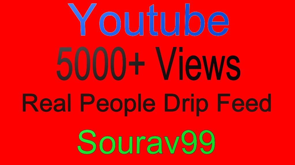 Youtube 5000+ Real People Desktop Views