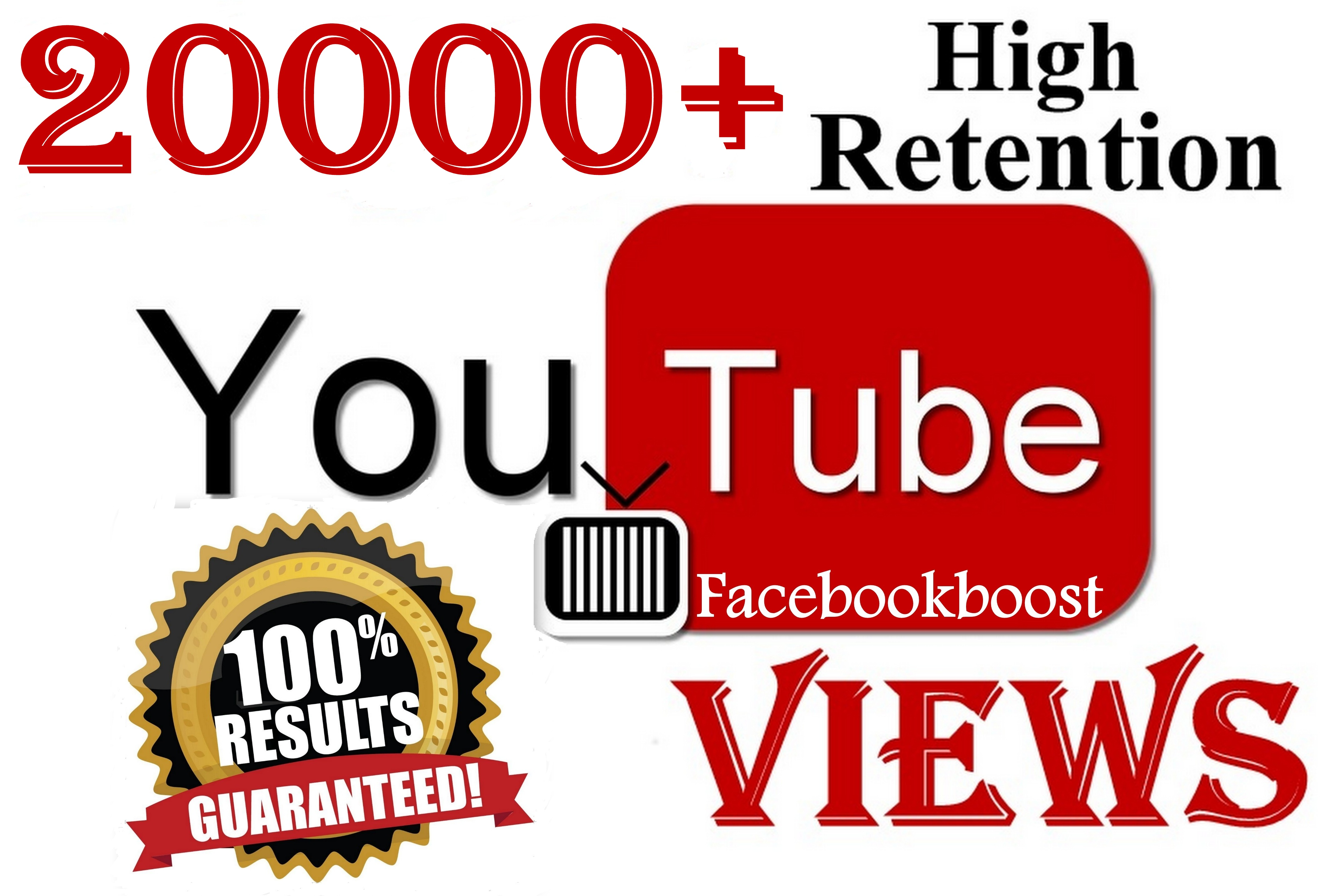 High Retention 20000+ Youtube Views Organic Quality Work SeoPromotion