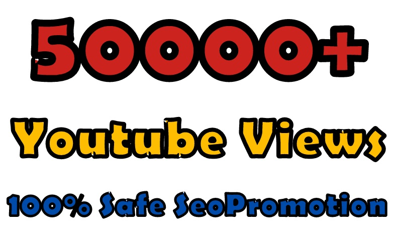 Youtube Video PROMOTION 50k Adsense Safe Traffic