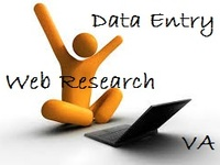 i do data entry/data mining and web research
