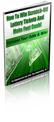 How to increase your odds of winning on a scratch car... eBook