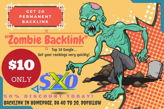 Page #1 Google, PBN Zombie Backlink High DA PA TF CF