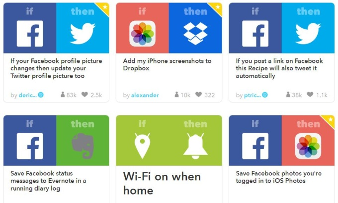 make manually 35 channel for IFTTT