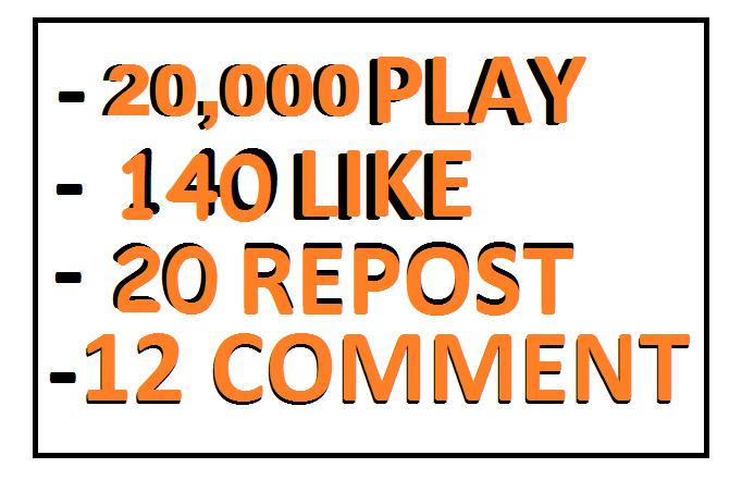 20,000 play 140 like 20 repost 12 comments