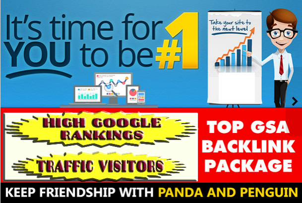 We will create 1000+ Verified GSA HIgh Quality Backlinks for Higher Google Rankings and Traffic