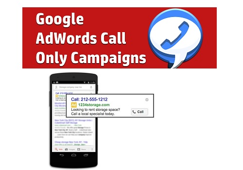 Setup Google Adwords Call Campaign
