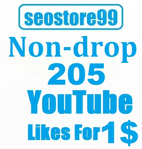 200 - 250 Non-drop YouTube likes within 24 hours